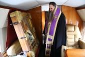 В Нижегородской области состоялся воздушный крестный ход с иконой Божией Матери