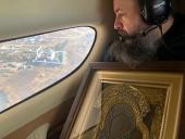 Пензенскую область облетели с Казанской иконой Божией Матери