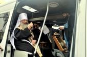 Автомобильный крестный ход с особо чтимыми уральскими святынями состоялся в Екатеринбурге