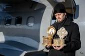 Кемеровские священнослужители совершили облет Кузбасса с молитвой об избавлении от коронавируса