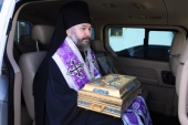 Епископ Шахтинский Симон совершил молитвенный объезд города Шахты и прилегающих к нему поселков