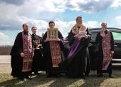 Состоялся объезд Курска с чтимым списком Курской-Коренной иконы Божией Матери «Знамение»