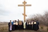 Митрополит Омский Владимир возглавил автомобильный крестный ход вокруг Омска
