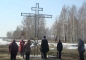 Участники крестных ходов в Карасукской епархии молились об избавлении от вредоносного поветрия