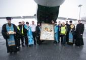 В Ханты-Мансийской митрополии состоялся воздушный крестный ход с иконой Божией Матери «Отрада и Утешение»