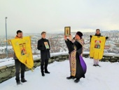 Молитвы о защите от вредоносного поветрия вознесены в Тронхейме (Норвегия)