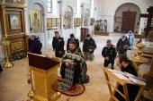 В храме при Синодальном комитете по взаимодействию с казачеством совершен молебен о прекращении вредоносного поветрия