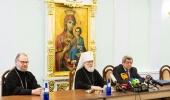 В Минске прошла пресс-конференция «Коронавирус как вызов: ответ Белорусской Православной Церкви»
