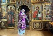 В Великий Четверток Святейший Патриарх Кирилл совершил Литургию св. Василия Великого