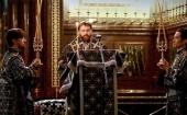 В канун пятницы Страстной седмицы епископ Павлово-Посадский Фома совершил утреню с чтением двенадцати Страстных Евангелий в Храме Христа Спасителя