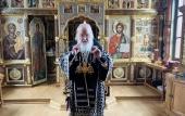 Проповедь Святейшего Патриарха Кирилла в Великий Пяток