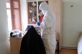 В Больничной комиссии Московской городской епархии принимают заявки о причащении больных коронавирусом