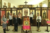 Paschal worship services celebrated at Russian Orthodox Church's Damascus representation
