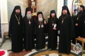 В Русской духовной миссии в Иерусалиме встретили праздник Пасхи