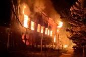Совершен поджог Успенского мужского монастыря г. Одессы