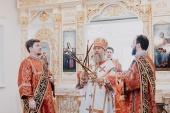 Глава Казахстанского митрополичьего округа освятил нижний Успенский храм Никольского собора г. Алма-Аты