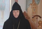Патриаршее поздравление настоятельнице Борисоглебского Аносина ставропигиального монастыря игумении Марии (Солодовниковой) с днем рождения