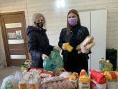 В Симферопольской и Херсонской епархиях во время пандемии коронавируса поддерживают нуждающихся и престарелых прихожан
