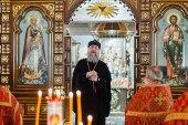Митрополит Астанайский Александр возглавил престольный праздник в храме во имя блаженной Матроны Московской в Алма-Ате