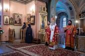 Председатель Синодального отдела по монастырям и монашеству возглавил празднование дня памяти блаженной Матроны Московской в Покровском монастыре столицы