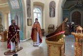 В московском представительстве Православной Церкви в Америке молитвенно почтили память святителя Николая Сербского