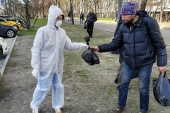 Более тысячи волонтеров московских приходов помогают нуждающимся в условиях распространения коронавирусной инфекции
