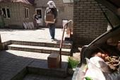Бишкекская епархия обеспечила продуктами более тысячи киргизских, узбекских и русских семей