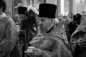 Патриаршее соболезнование в связи с кончиной настоятеля храма Покрова Пресвятой Богородицы в Измайлове г. Москвы протоиерея Владимира Бушуева