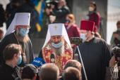 Блаженнейший митрополит Онуфрий прокомментировал петицию об отнятии Киево-Печерской лавры