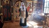 Святейший Патриарх Кирилл совершил литию по приснопамятному Патриарху Сергию (Страгородскому)