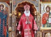 В Неделю 5-ю по Пасхе Святейший Патриарх Кирилл совершил Божественную литургию