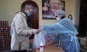 Специалисты медико-социального отдела Нижегородской епархии провели раздачу продуктовой гуманитарной помощи