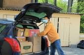 В Калининградской епархии передали нуждающимся более пяти тонн продуктов