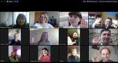 В Выборгской епархии состоялась видеовстреча слушателей курсов повышения квалификации по информационному служению