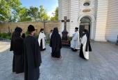 В годовщину Харьковского Архиерейского Собора совершена заупокойная лития на могиле Блаженнейшего митрополита Владимира (Сабодана)