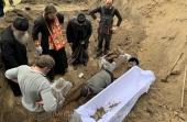 Останки убиенного 100 лет назад священника обретены в Александрийской епархии