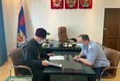 Строительство новых храмов в Башкирии обсудили на встрече правящий архиерей Салаватской епархии и начальник УФСИН РБ