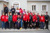 Православных волонтеров отметили грамотами Общественной палаты Сахалинской области