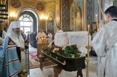 Блаженнейший митрополит Онуфрий совершил отпевание Михаила Литвиненко