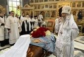 Состоялось отпевание митрополита Чебоксарского и Чувашского Варнавы