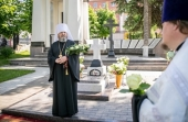 В Ижевске молитвенно почтили память митрополита Николая (Шкрумко) в день пятилетия его кончины