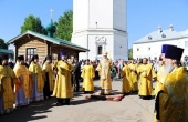 В Вятской митрополии начались торжества в память обретения Великорецкого образа святителя Николая Чудотворца