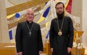 Состоялась встреча Патриаршего экзарха Западной Европы с апостольским нунцием во Франции
