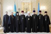 Глава Казахстанского митрополичьего округа вручил награды клирикам Алма-Атинской епархии