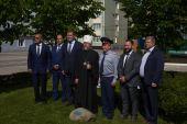 Глава Рязанской митрополии совершил закладку храма на территории Академии ФСИН РФ