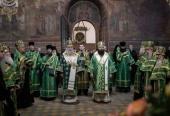 В Троице-Сергиевой лавре прошли торжества по случаю престольного праздника