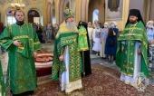 В Русской духовной миссии в Иерусалиме отметили праздник Пятидесятницы