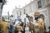 В Париже прошли торжества по случаю престольного праздника Троицкого кафедрального собора