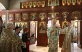 Святейший Патриарх Сербский Ириней совершил Литургию в престольный праздник Подворья Русской Православной Церкви в Белграде