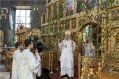 На девятый по преставлении митрополита Варнавы (Кедрова) в Чебоксарах совершены заупокойные богослужения